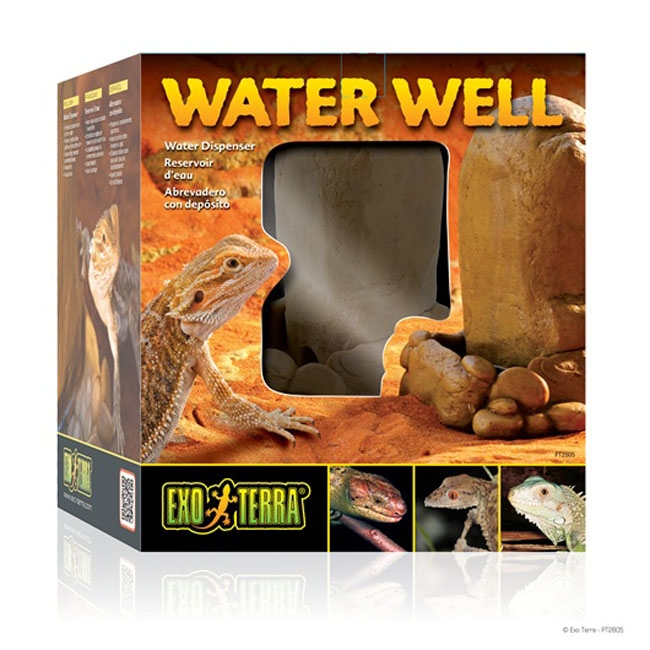 Adapator reptile, Exo Terra Water Well Water Dispenser PT2805