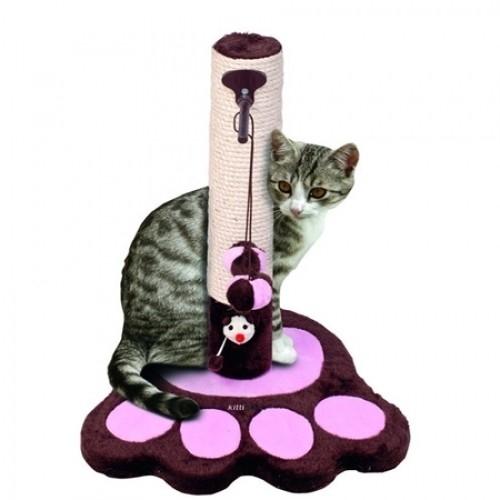 Ansamblu joaca pisici, Pet Expert Kittidas Roz/Maro 49 CM