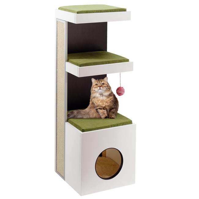 Ansamblul de joaca pisici, Ferplast Tiger, 115 cm