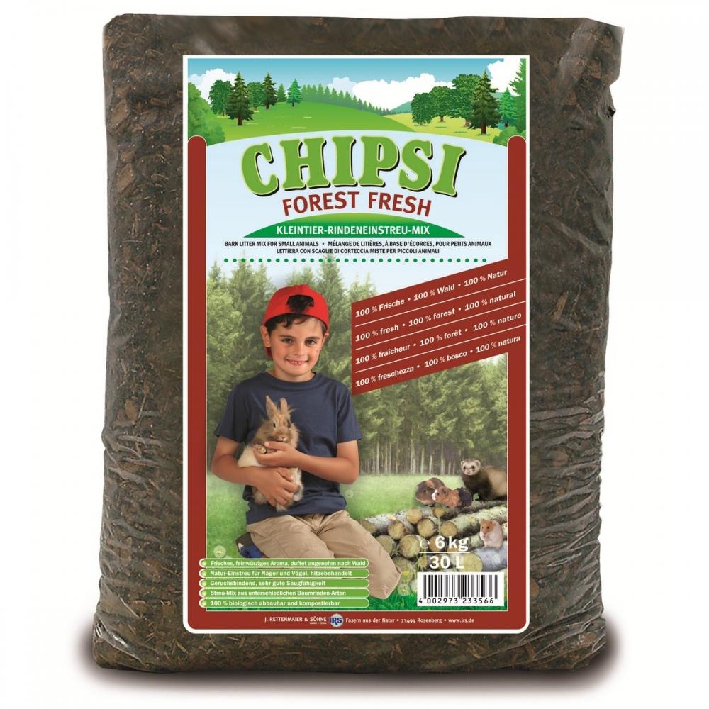 Asternut pentru rozatoare, Chipsi Forest Fresh 30 L