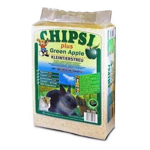 Asternut pentru rozatoare, Chipsi Green Apple