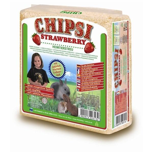 Asternut pentru rozatoare, Chipsi Strawberry
