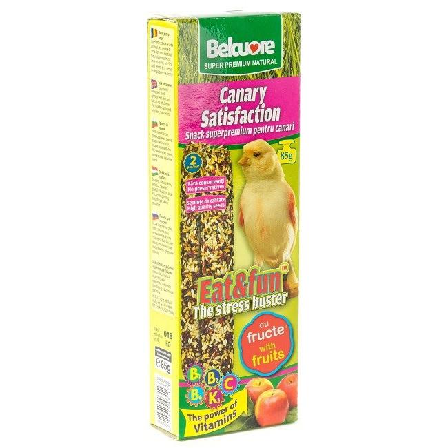 Baton pasari Belcuore Canari cu mere, 85 g