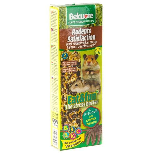 Baton rozatoare Belcuore Hamsteri cu Roscova, 115 g