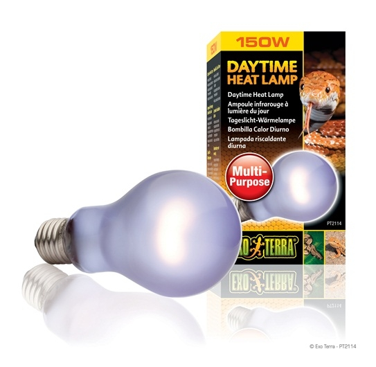 Bec terariu, Exo Terra Daytime Heat Lamp A21 / 150W, PT2114