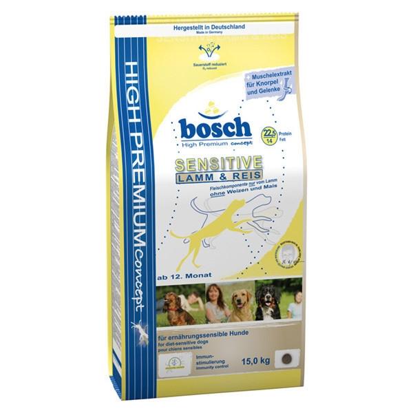 Hrana pentru caini Bosch HP Sensitive Lamb&Rice, 15 Kg
