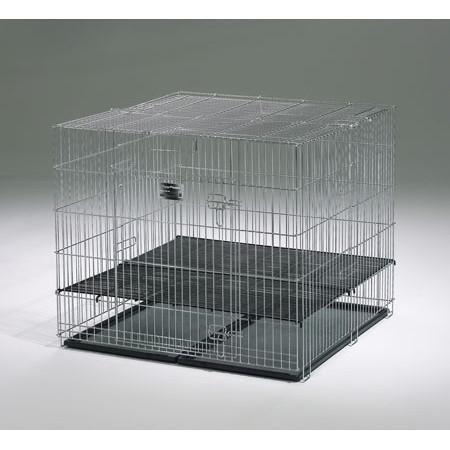 Cusca metalica pentru caini, Puppy Playpen 91x91x76 CM 236-05