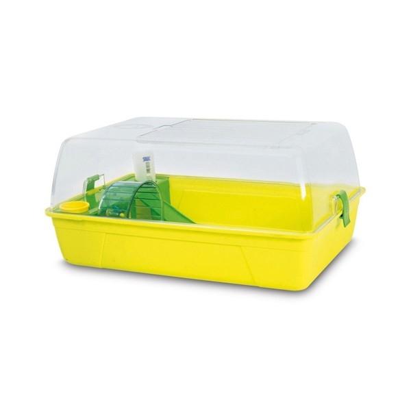Cusca pentru rozatoare, Pet Expert, Hamster Fun, 55 CM, Lemon