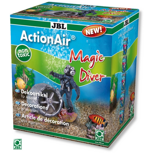 Decor pentru acvariu, JBL ActionAir Magic Diver