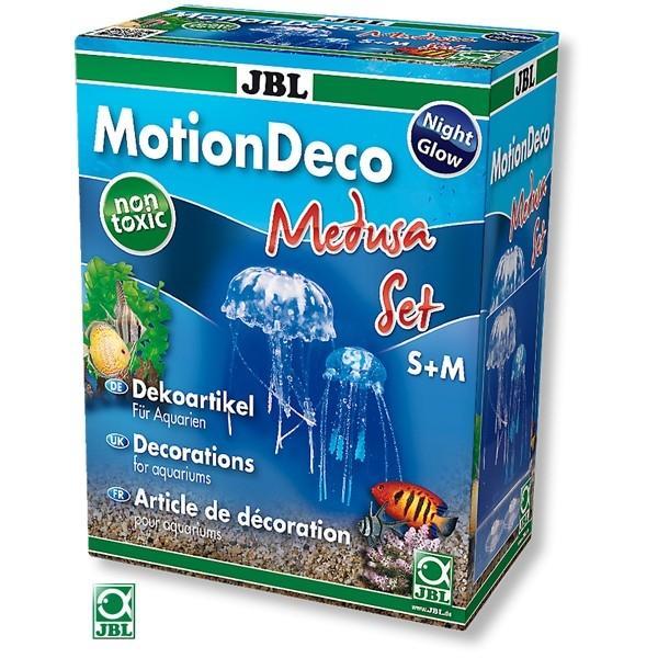 Decor pentru acvariu, JBL, MotionDeco Medusa Set (S+M)