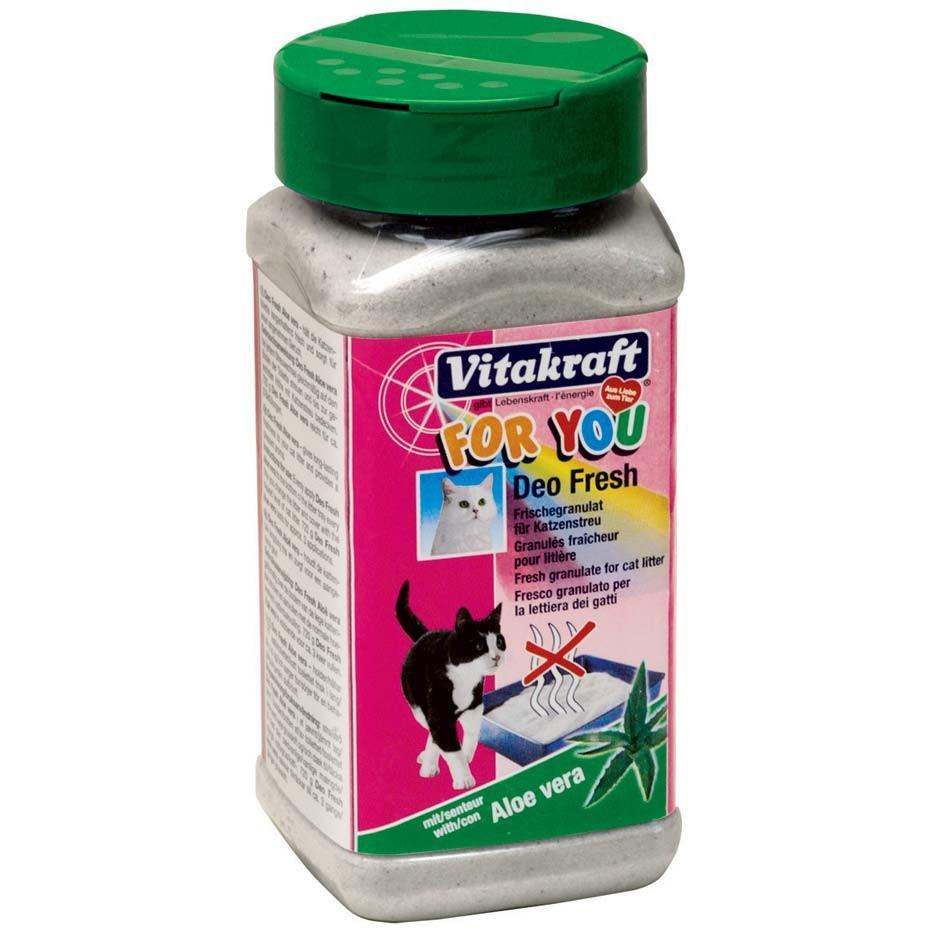 Deo pentru litiera pisici, Vitakraft For You Aloe Vera, 720g