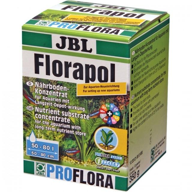 Fertilizator plante acvariu, JBL Florapol 100, 350g