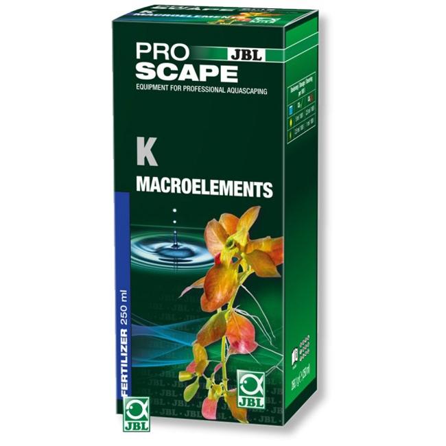 Fertilizator plante acvariu, JBL, ProScape K Macroelements 250ml