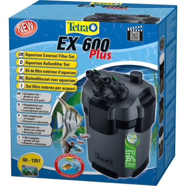 Filtru extern acvariu, Tetra Tetratec 600 L/h Plus