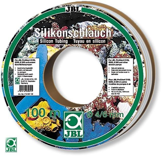 Furtun pentru acvariu JBL Silicone tube 4/6 mm per 1 m(roll 100 m)
