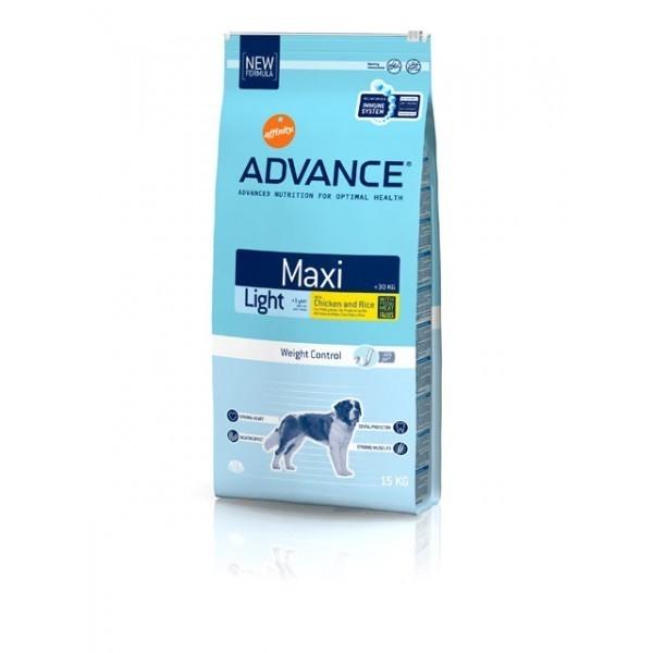 Hrana pentru caini, Advance Maxi Light, 15 Kg