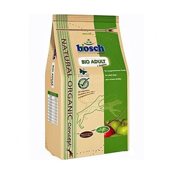 Hrana pentru caini Bosch  Bio Adult+Mere, 11.5 Kg