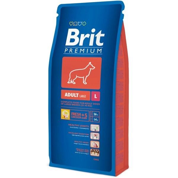Hrana pentru caini, Brit Premium Adult L, 15 Kg