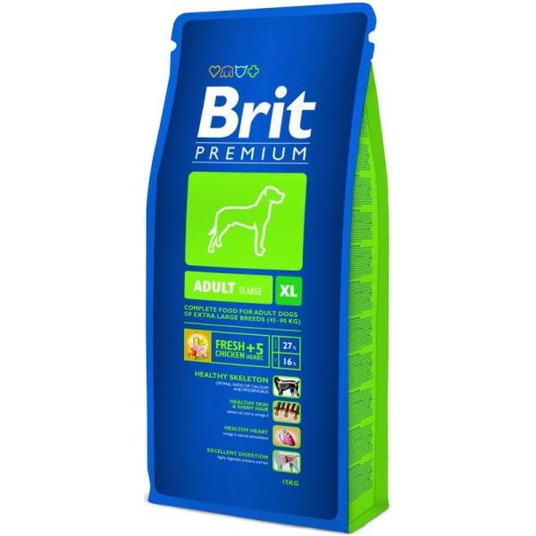 Hrana pentru caini, Brit Premium Adult XL, 15 Kg