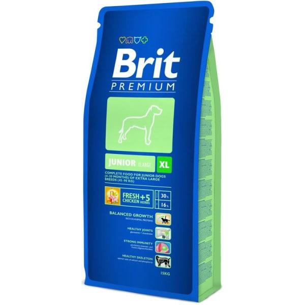 Hrana pentru caini, Brit Premium Junior XL (Extra large), 15 Kg
