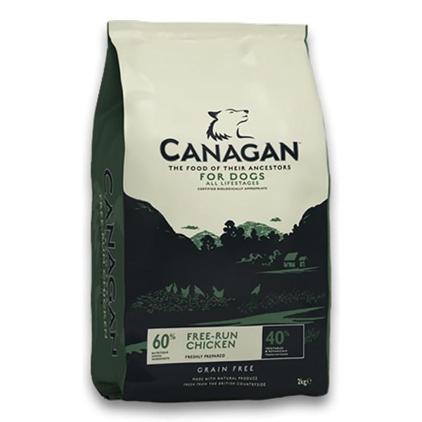 Hrana uscata pentru caini, Canagan Grain Free Pui, 12 Kg