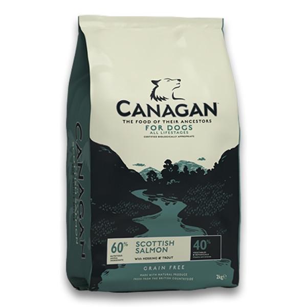 Hrana uscata pentru caini, Canagan Grain Free Somon, 12 Kg