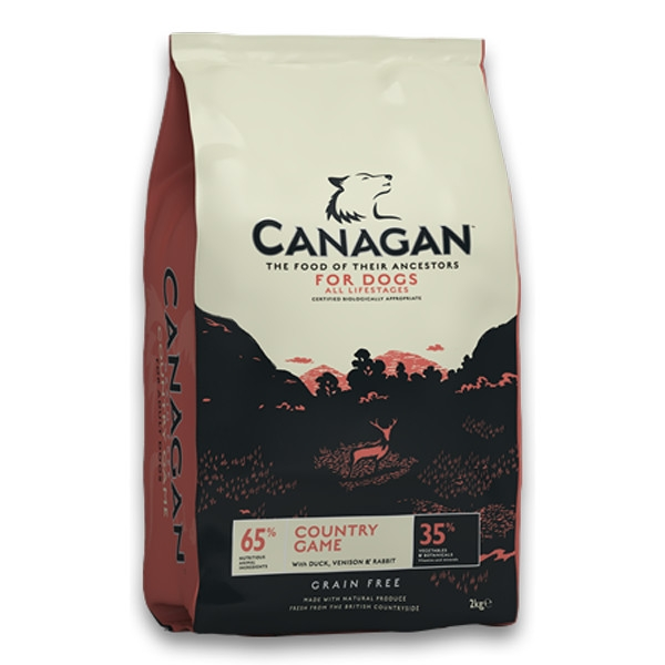 Hrana uscata pentru caini, Canagan Grain Free Vanat, 12 Kg