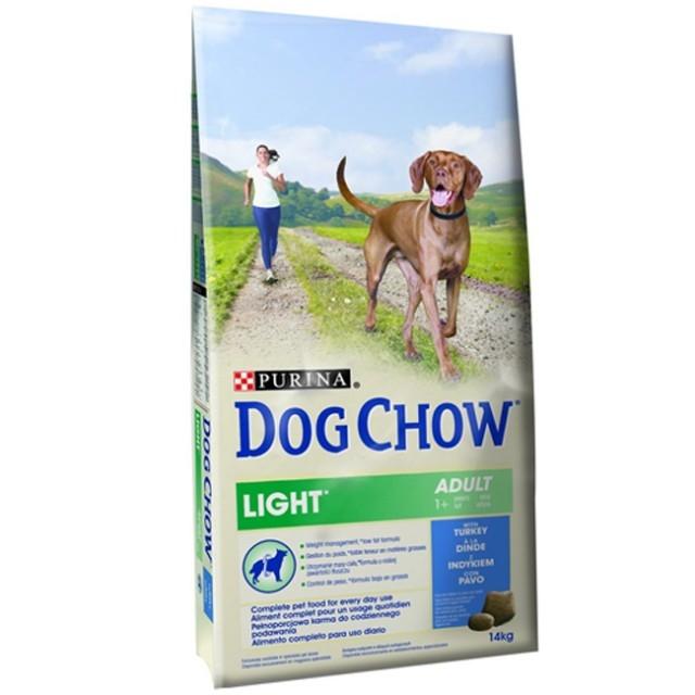 Hrana pentru caini, Dog Chow Light Turkey, 14 kg