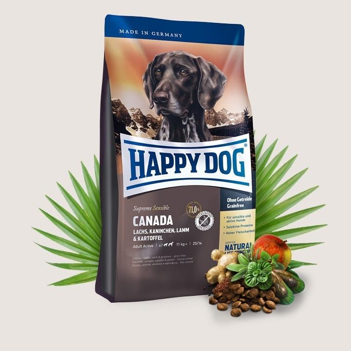 Hrana pentru caini, Happy Dog Canada, 12,5 Kg