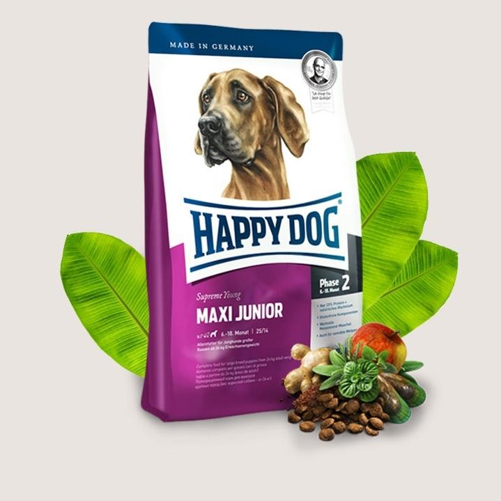 Hrana pentru caini, Happy Dog Maxi Junior
