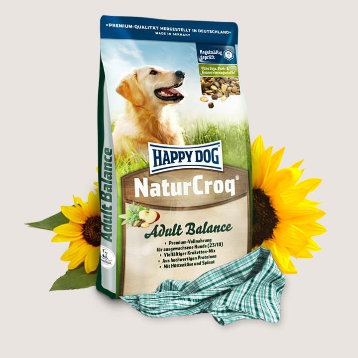 Hrana pentru caini, Happy Dog Natur Croq Balance