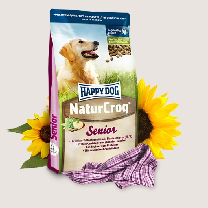 Hrana pentru caini, Happy Dog Natur Croq Senior