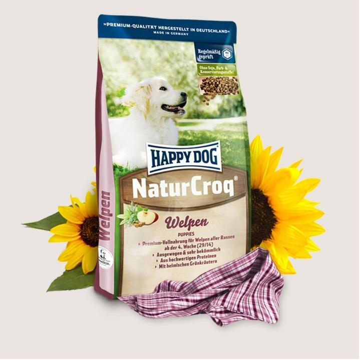 Hrana pentru caini, Happy Dog Natur Croq Welpen