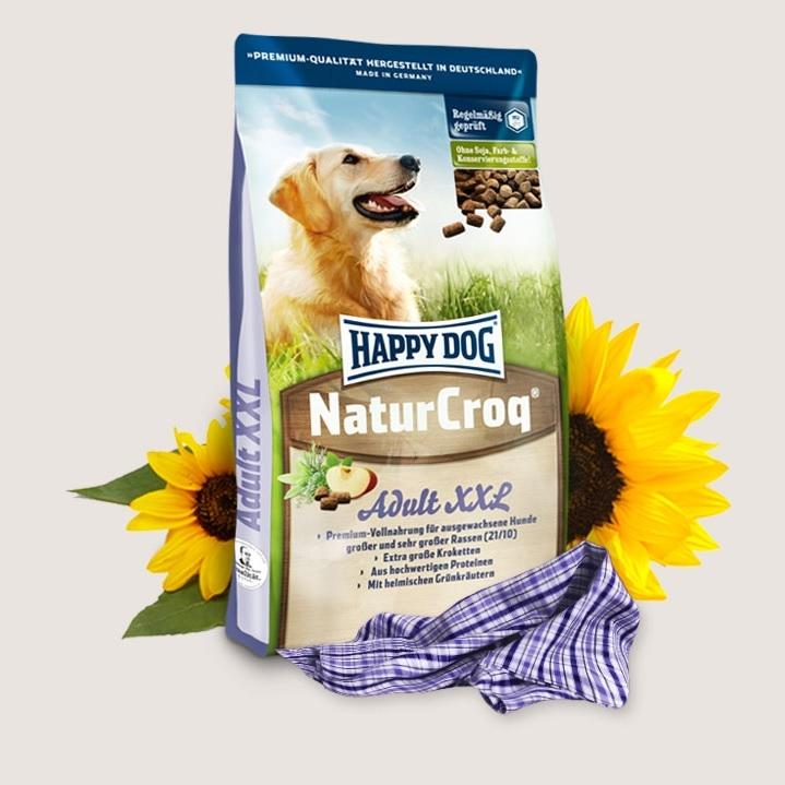 Hrana pentru caini, Happy Dog Natur Croq XXL 15 Kg