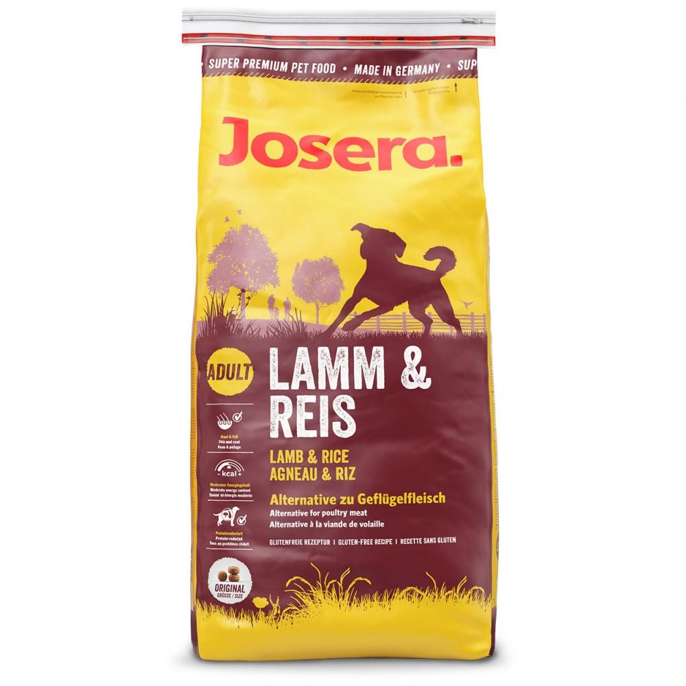 Hrana pentru caini, Josera Lamb & Rice, 15 Kg.