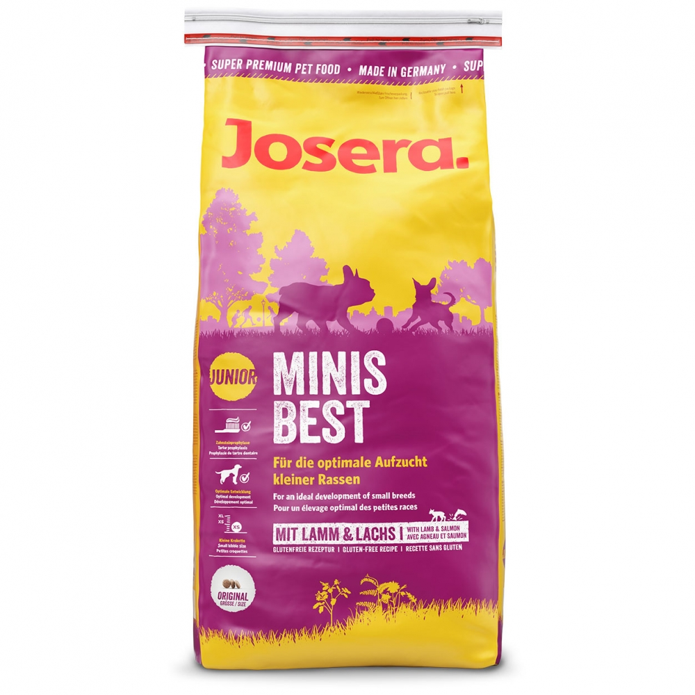 Hrana pentru caini, Josera MinisBest, 15kg