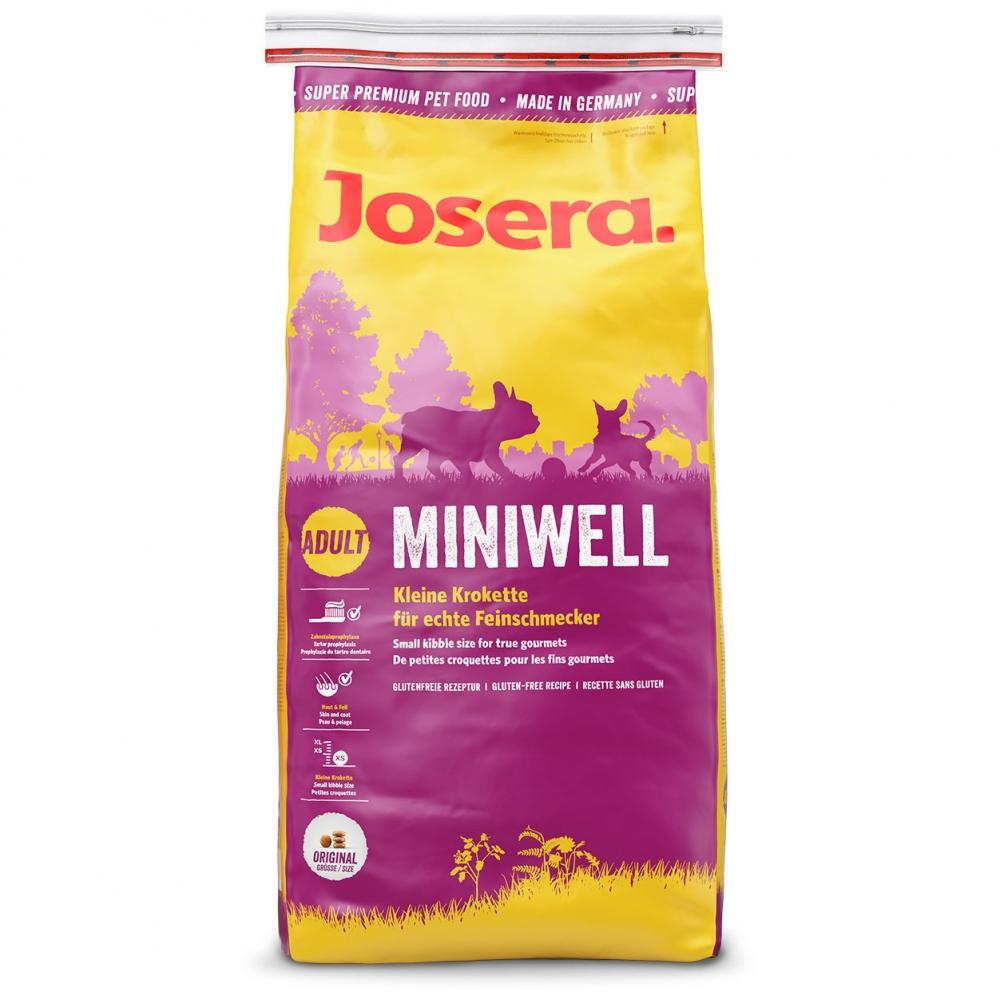 Hrana pentru caini, Josera Miniwell, 15kg