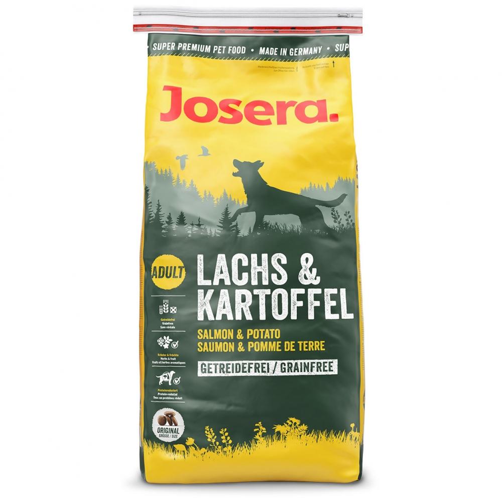 Hrana pentru caini, Josera Somon si Cartof, 15 Kg