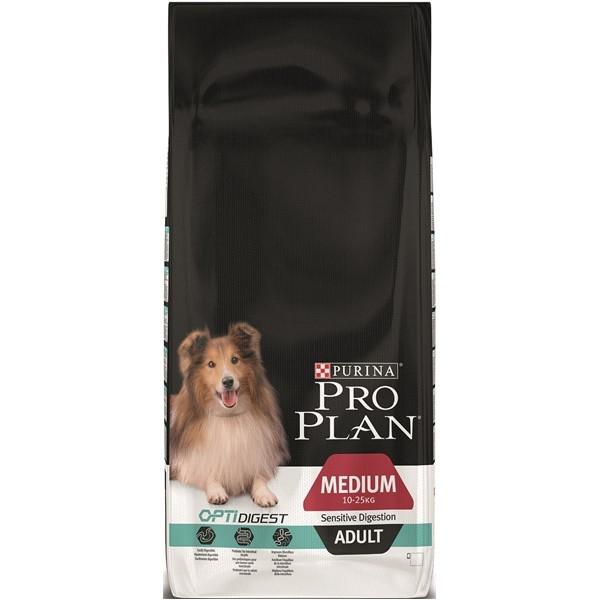Hrana pentru caini, Pro Plan Dog Mediu Adult Digestion, 14 kg