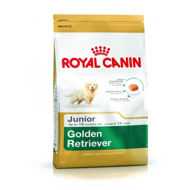 Hrana uscata pentru caini, Royal Canin, Golden Retriever Junior