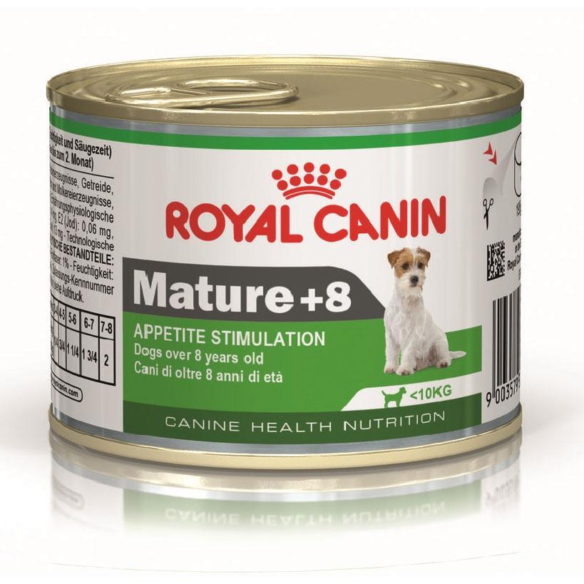 Hrana pentru caini, Royal Canin Mini Mature+8 CAN, 195 G