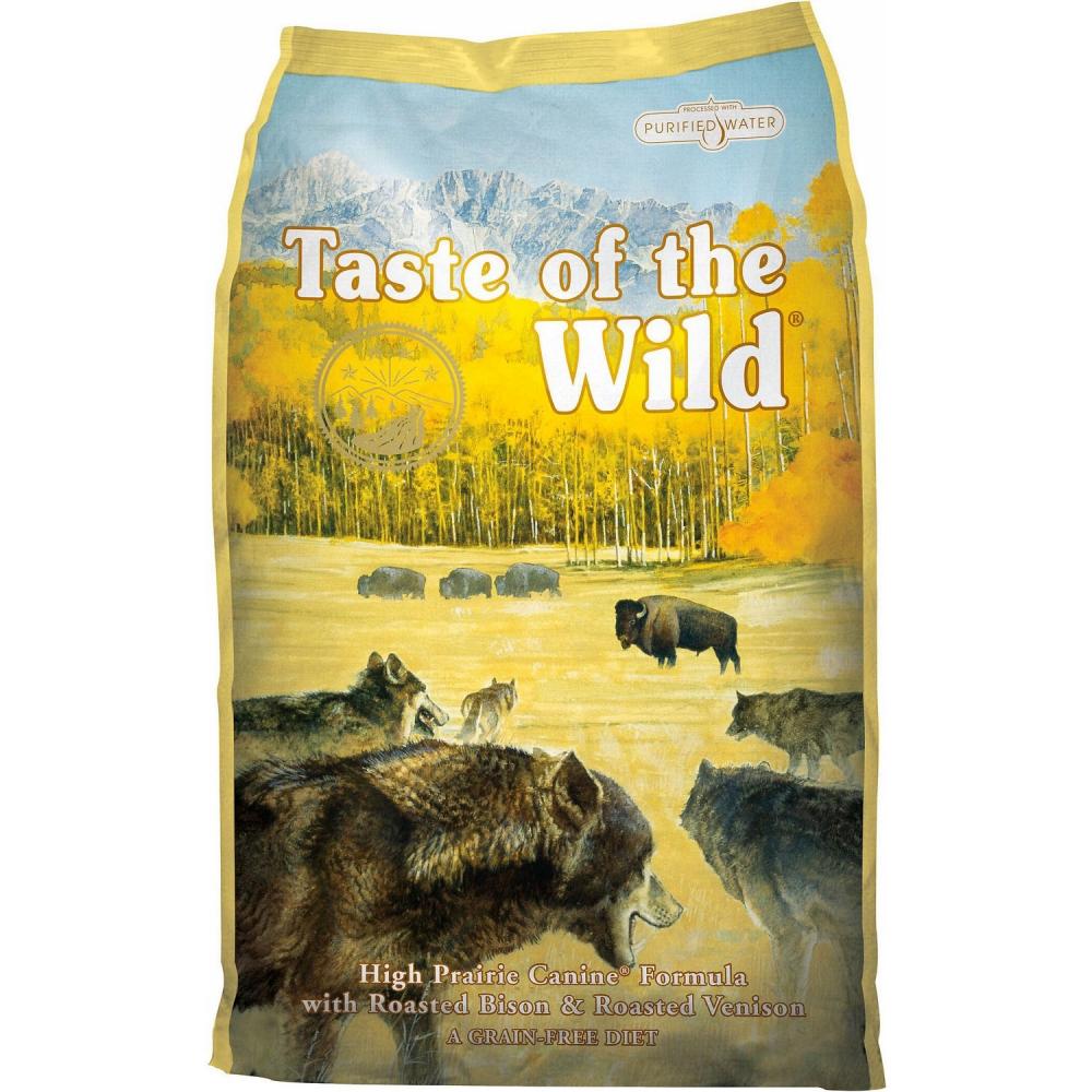 Hrana pentru caini, Taste of the Wild, High Prairie, 13 Kg