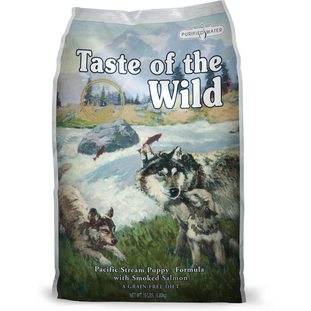 Hrana pentru caini, Taste of the Wild Pacific Stream Puppy, 13 Kg