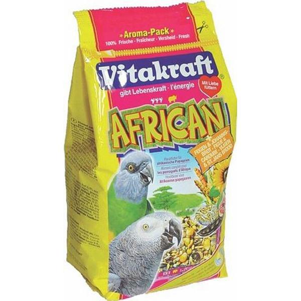 Hrana pentru pasari Vitakraft Meniu African 750 g.