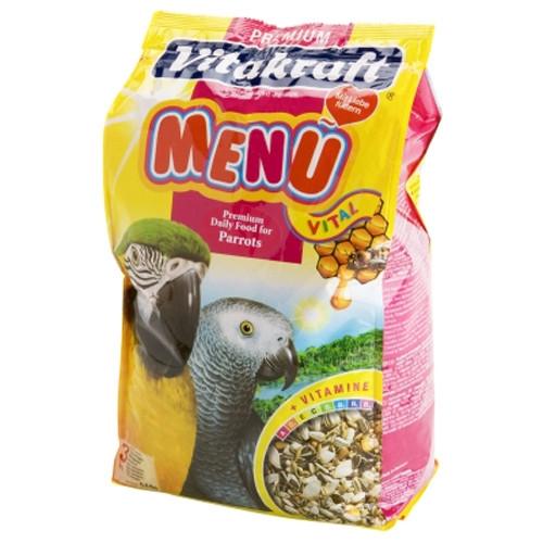 Hrana pentru pasari Vitakraft Meniu Papagal 3 Kg