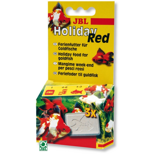Hrana pentru pesti, JBL Holiday Red