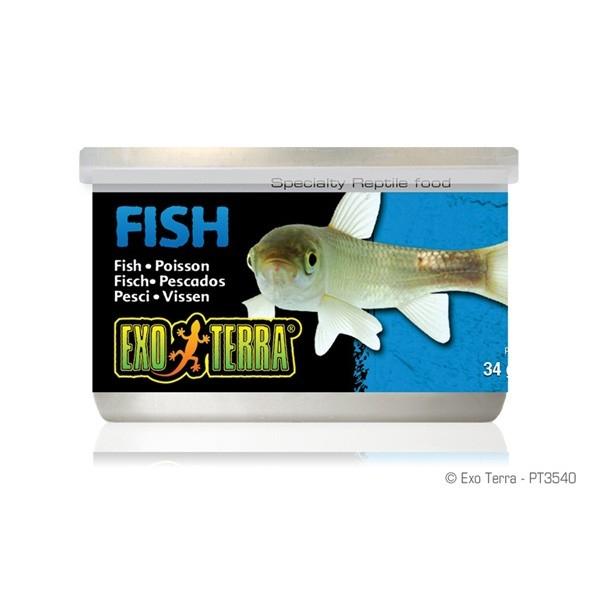Hrana pentru reptile Hagen Exo Terra Canned Fish - 34 g