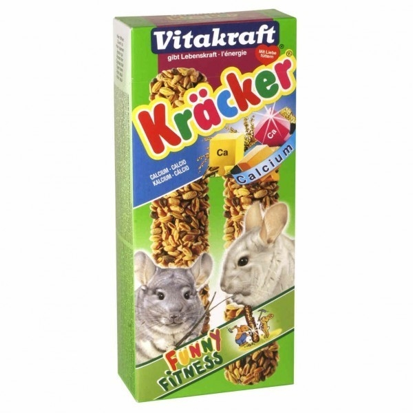 Hrana pentru rozatoare Baton Vitakraft Chinchilla Calciu