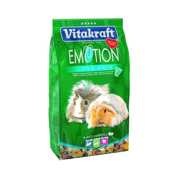 Hrana pentru rozatoare Vitakraft Emotion Guineea Pig Par Lung, 600g