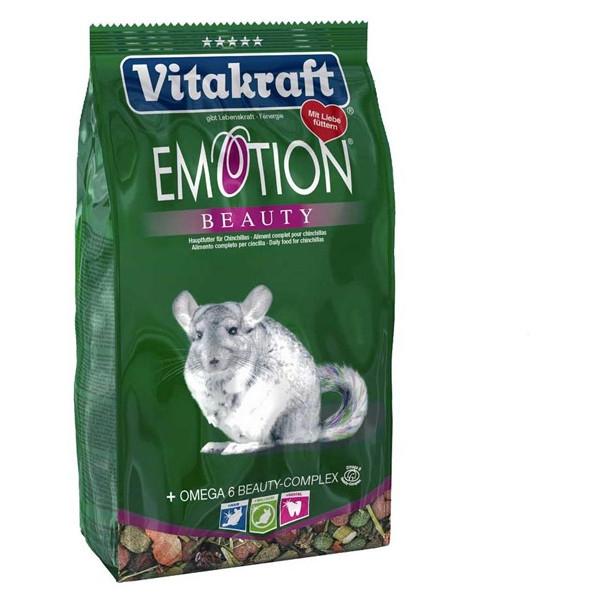 Hrana pentru rozatoare Vitakraft Meniu Emotion Beauty Chinchilla, 600G